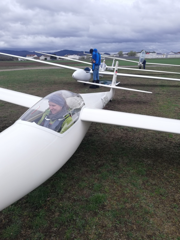Flugbetrieb Hangwind
