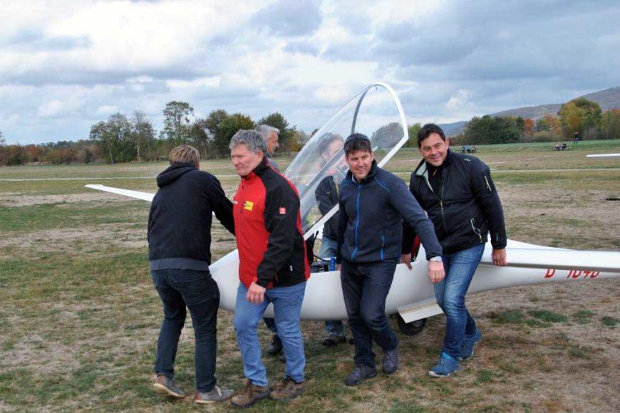Flugbetrieb LS4a Team