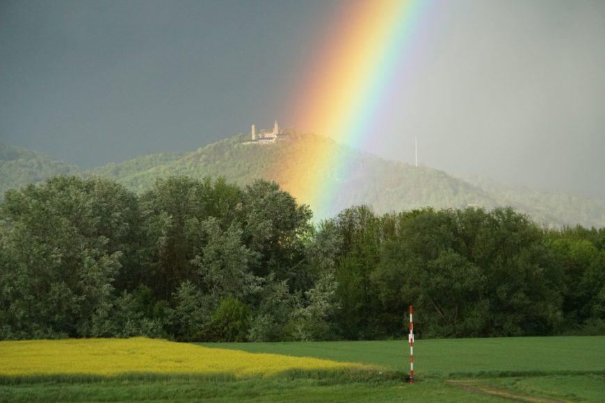 Osterlager Regenbogen Auerbach-Schloss