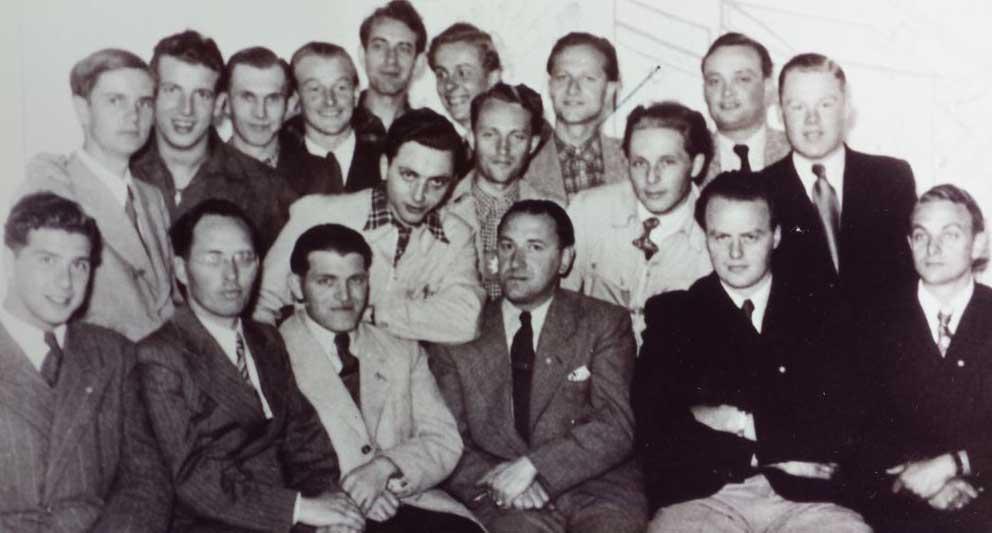 Geschichte 1951 Gruendungsmitglieder
